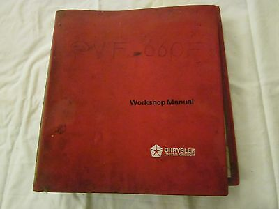 Hillman Imp and Chamois Workshop Manual