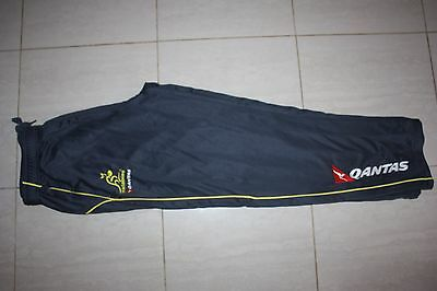 Wallabies Rugby Mens Travel Track Pants, M XL, with defects