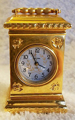 MIB - Miniature Independence Hall B0571 Clock by Bulova - Collectible