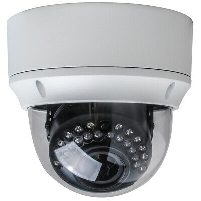 4in1 1080P TVI/CVI/AHD/CVBS Dome Camera 100ft IR Vandalproof 2.8-12mm DC12/AC24V