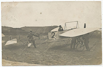 Early aviation postcard posted 1911