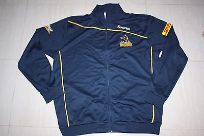 ACT Brumbies Mens Super Rugby Travel Track Jacket, S - with defects