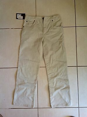 Thomas Cook Stretch Moleskin Jean Child's Size 12 - Stone Colour - New With Tags