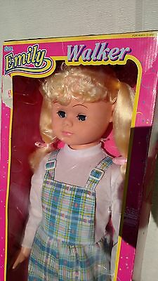 "Rare Vintage 32"" Emily Walker Walking Doll 