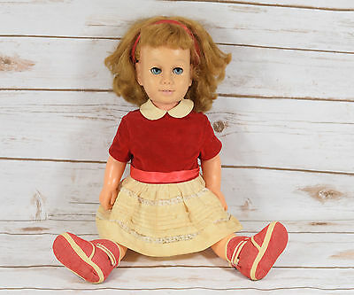 Vintage Mattel Chatty Cathy Doll with Tagged Dress
