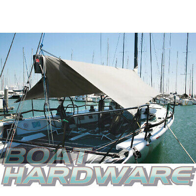 Sail BOAT COVER Awning W 3.6m x L 4.2m Water & UV Resistant Quality Canvas