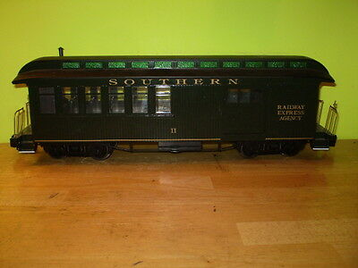 Model Trains/g Scale/bachmann/southern/railway Express Agency/combine Car