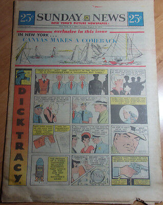 Aug 22 1971 Ny Sunday News Comics 16 Pages Dick Tracy,gasoline Alley, Blondie