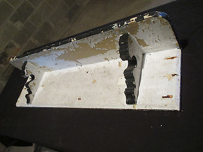 Antique Victorian ~ Wall Shelf ~ Corbels 41 Inch ~ Architectural Salvage