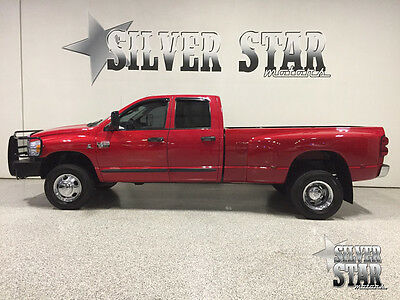 2007 Dodge Ram 3500  2007 Ram 3500 DRW SLT 4WD QuadCab Dually 5.9L-Cummins LikeNu Loaded TEXAS truck!