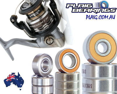Shimano Rarenium Fishing Reel Bearing Kits Stainless Steel & Ceramic Hybrid CI4+