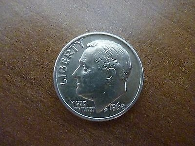 1962 Roosevelt Dime - Silver Coin