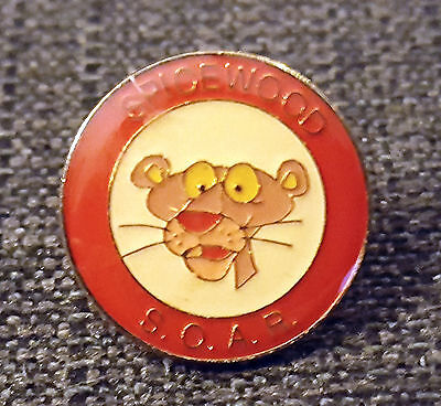 RARE Vintage Pink Panther Spicewood S.O.A.R. Lapel Pin * 1 inch
