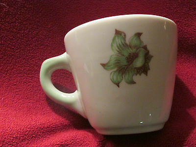 Syracuse China Union Pacific Railroad Cup, Stamped RR, MINT! OLD