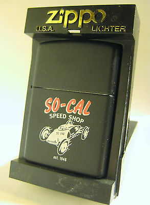 1998 Zippo So Cal Speed Shop Belly Tanker Race Car Hot Rod Mint Unfired