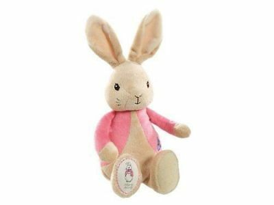 My First Flopsy Bunny Bean Rattle Plush Baby Toy Beatrix Potter