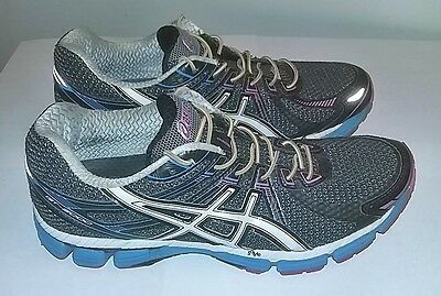 Asics GT-2000 Women's Multi Color Running Shoes With Sofsole, Size 8.5