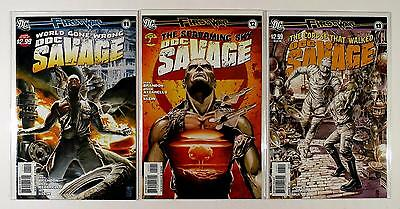 Doc Savage First Wave Dc Lot Of 3 Comics #11 12 13 (Vf/nm)