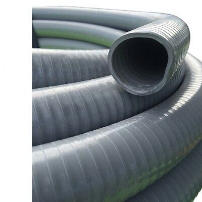 NEW Suction Grey PVC Water Hose 25mm