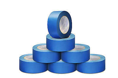 4 Rolls 180 Foot Blue Masking Tape General Purpose Painting Adhesive 2 Inch New