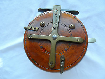 Vintage Hardy Bros Fishing Reel - Very Rare Hardy Reel In Excellent Condition-