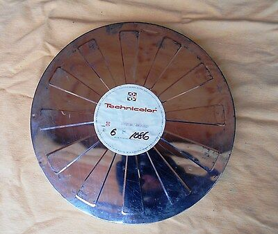 Original Movie Film Reel Box Canister Technicolor Hollywood 15 Inch Collector