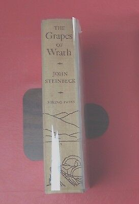 """The Grapes of Wrath""  First Edition,  First Printing 1939 by: John Steinbeck"