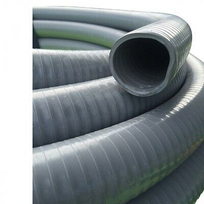 NEW Suction Grey PVC Water Hose 76mm