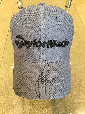 Justin Rose's OWN Taylormade M1/PSI Cap Signed