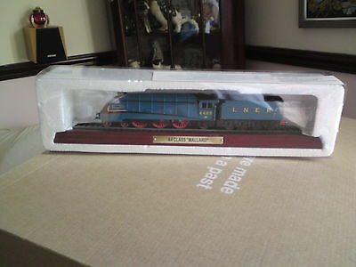 "Collectable model locomotive A4 Class ""Mallard"" 4468 LNER train, FREE-MAILING."