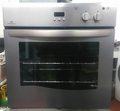 New World NW60MF Fan Assisted Single Electric Oven In Stainless Steel