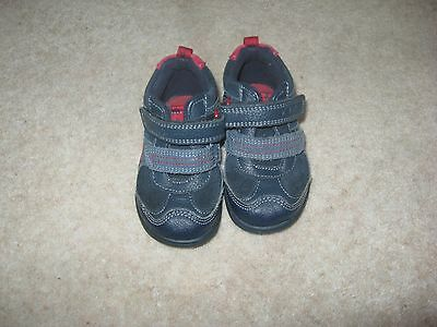 Boys clarks toddler boots size 4F