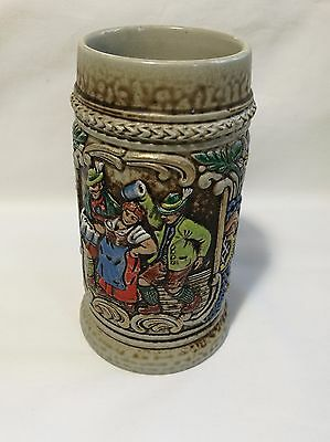 Antique collectable Beer Stein Made in Gerz West Germany H14cm
