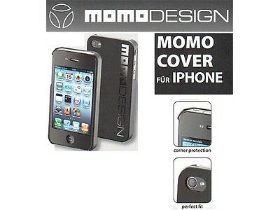 Iphone 4 / 4S Cover Momo Design Schwarz/Weiß Iphone 4