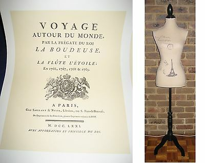 Lady form mannequin cloth dummy clothes display eiffel: French Provincial style