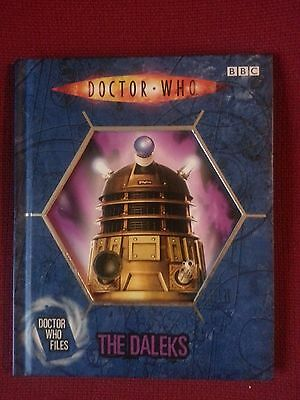 BBC Doctor Who Book- Doctor Who Files - The Daleks