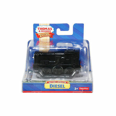 Fisher Price Thomas & Friends Wooden Railway Battery Operated Diesel Train Y4109
