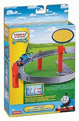 Fisher Price Thomas & Friends Take N Play Spiral Track Pack Brand New Y3277