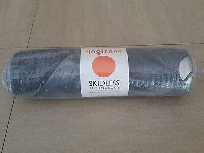 Yogitoes Skidless Yoga Towel - Peace Collection - Agate Gray