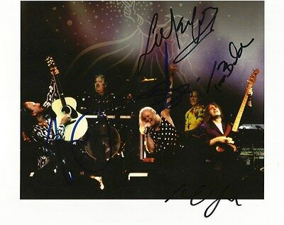 Uriah Heep (Trevor Bolder +) TOP ROCK autographs, In-Person signed photo