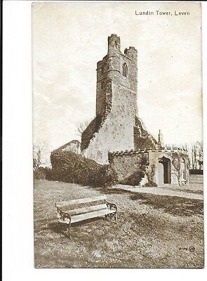 Lundin Tower, Leven. Valentines Series Postcard.