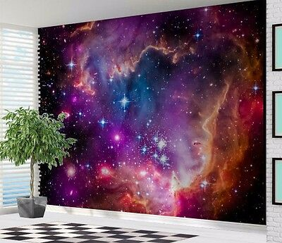 Awesome Space nebulae red dwarf stars wallpaper wall mural (27549273)