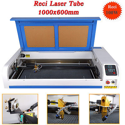 UPGRADED 100W 1060 CO2 Laser Engraving Cutting Machine USB  Engraver Cutter