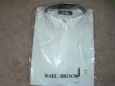 Mens Rael Brook wing collar shirt BNWT size 16.5 collar