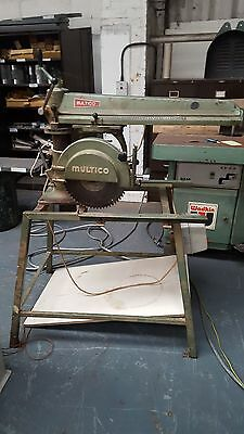 Radial Arm Saw Multico - £700 + VAT