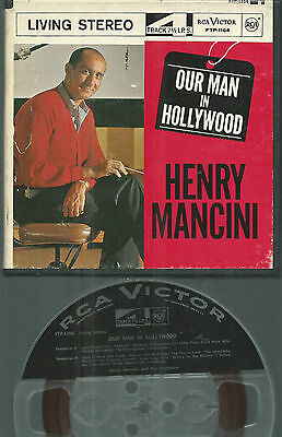 4 Spur Tonband Reel to Reel : Henry Mancini - Our man in Hollywood (Peter Gunn)