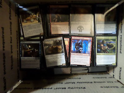 Magic the Gathering Huge Lot- Mostly Commons, Some Basic Land,Rare and Uncommons