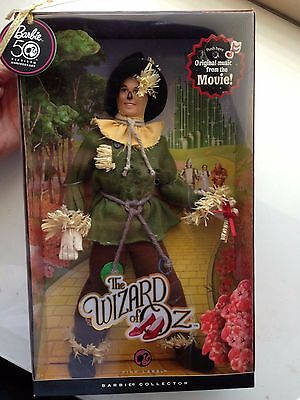 50th Anniversary The Wizard Of Oz Scarecrow 2010 Barbie Doll