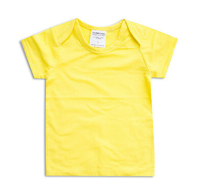 NEW Basics baby t-shirt in yellow by joey jelly bean