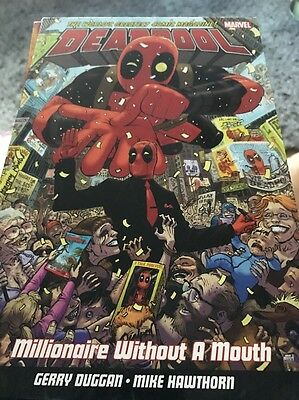 Deadpool. Millionaire Without A Mouth. Marvel Graphic Novel New